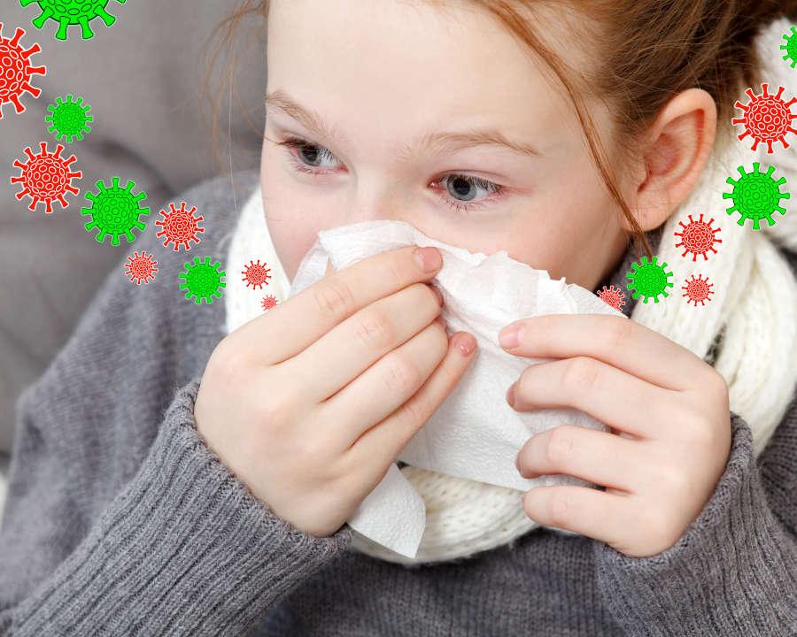 Mikrobų ataka - edukacija vaikams