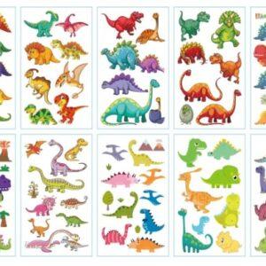 Nuplaunamos tatuiruotės dinozaurai