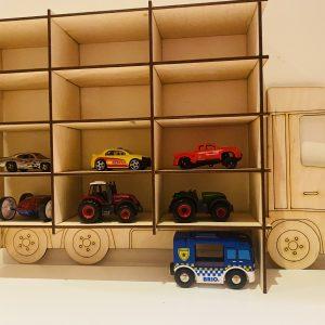 Medinė lentyna Sunkvežimis