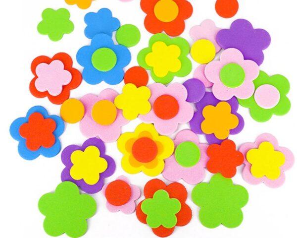 Lipnios putgumės dekoracijos gėlytės
