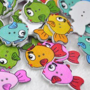 medinės sagos Žuvys