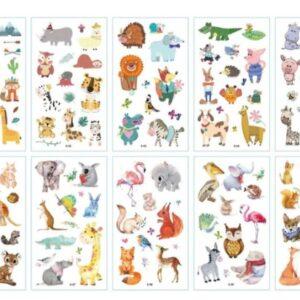 nuplaunamos tatuiruotės Gyvūnai