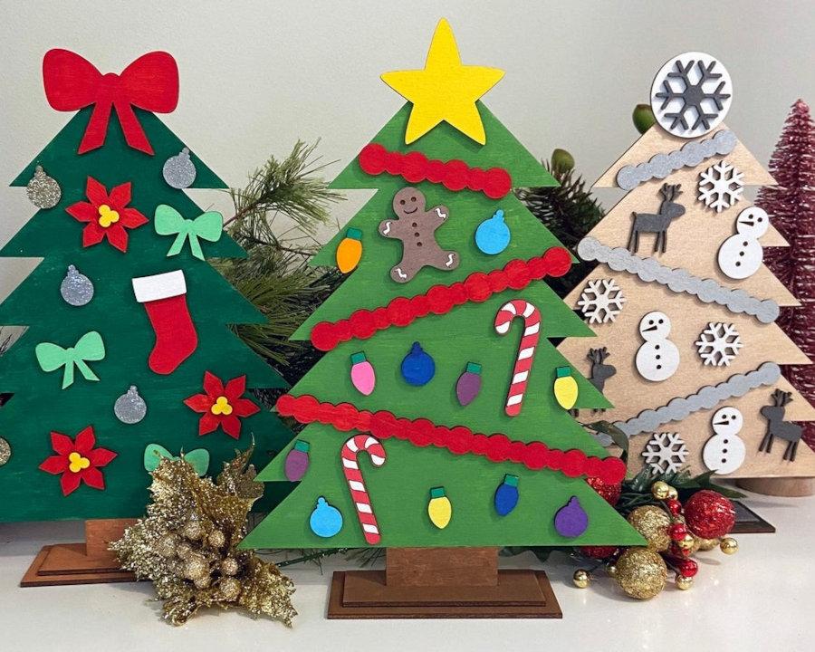 Kalėdinė eglutė - 100 zuikiu